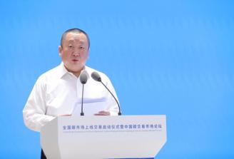 国网英大集团董事长杨东伟: 积极服务碳达峰、碳中和目标